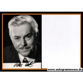 Autogramm Schauspieler   Hans HOLT   1980er (Portrait SW)