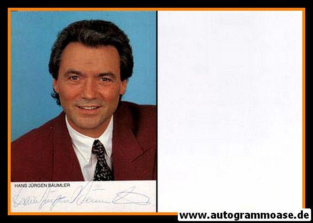 Autogramm Schauspieler | Hans-Jürgen BÄUMLER | 1980er (Portrait Color)