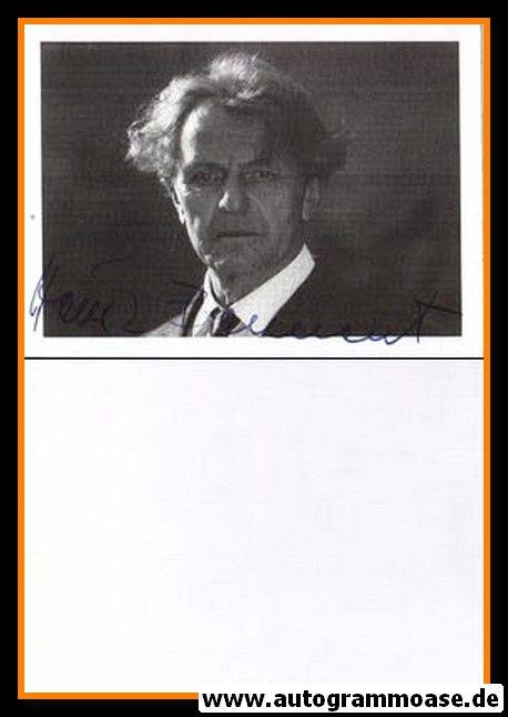 Autogramm Schauspieler | Heinz BENNENT | 1980er (Portrait SW)