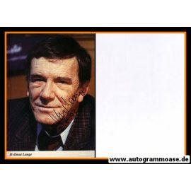 Autogramm Schauspieler   Hellmut LANGE   1980er (Portrait Color)