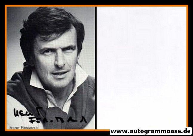 Autogramm Schauspieler   Helmut FÖRNBACHER   1980er (Portrait SW)