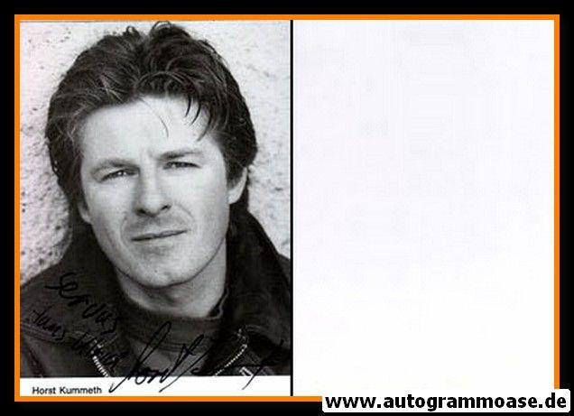 Autogramm Schauspieler   Horst KUMMETH   1980er (Portrait SW)