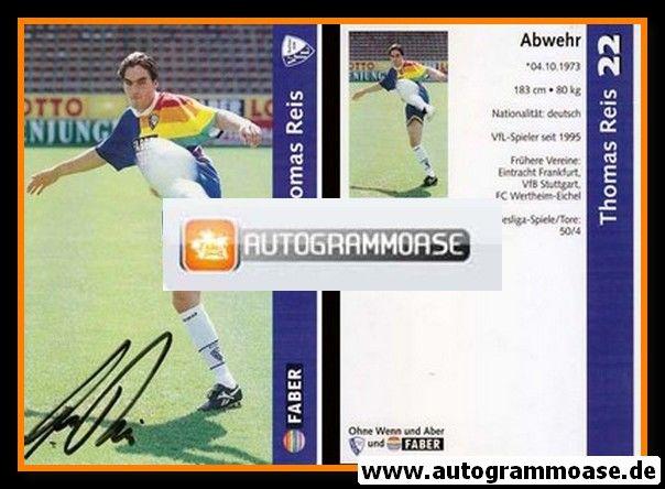 Autogramm Fussball | VfL Bochum | 1997 | Thomas REIS