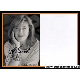 Autogramm Schauspieler | Jutta SPEIDEL | 1980er (Portrait SW)