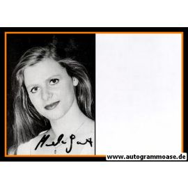 Autogramm Schauspieler   Manuela JOEST   1980er (Portrait SW)