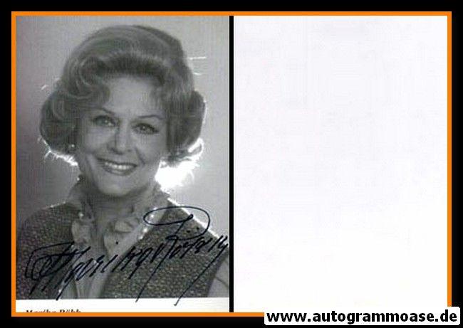 Autogramm Schauspieler   Marika RÖKK   1980er (Portrait SW)