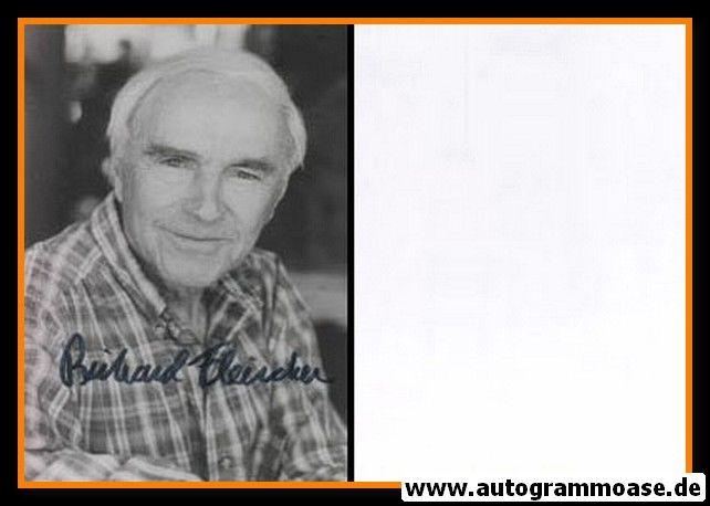 Autogramm Film (USA)   Richard FLEISCHER   1980er Foto (Portrait SW)