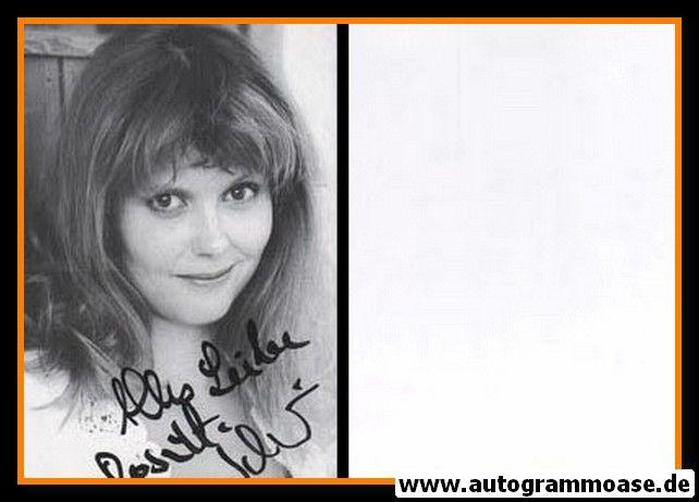 Autogramm Schauspieler   Roswitha SCHREINER   1980er (Portrait SW) 2