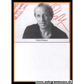 Autogramm Schauspieler | Ulrich PLEITGEN | 1980er (Portrait SW) 3