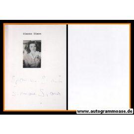 Autogramm Film (Frankreich) | Simone SIMON (Autograph)