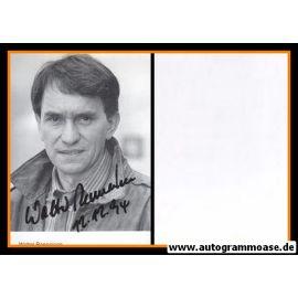 Autogramm Schauspieler | Walter RENNEISEN | 1980er (Portrait SW)