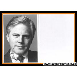 Autogramm Politik   SPD   Gerhard GLOGOWSKI   1990er (Portrait SW) XL
