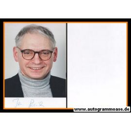 Autogramm Politik | DDR | Jens REICH | 1990er Foto (Portrait Color)