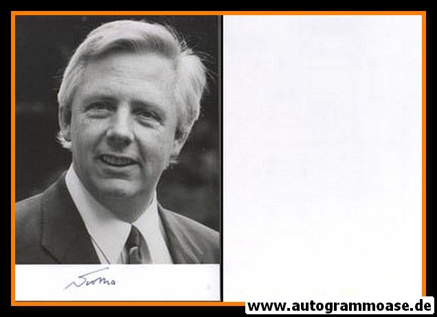 Autogramm Politik   CDU   Klaus VON TROTHA   1990er Foto (Portrait SW)