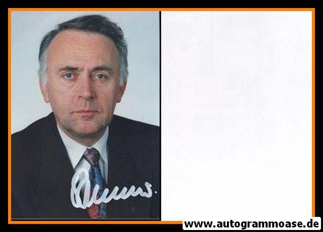 Autogramm Politik | CDU | Wolfgang BÖHMER | 1990er Foto (Portrait Color)