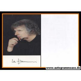 Autogramm Musik   Udo ZIMMERMANN   1990er Foto (Portrait Color)