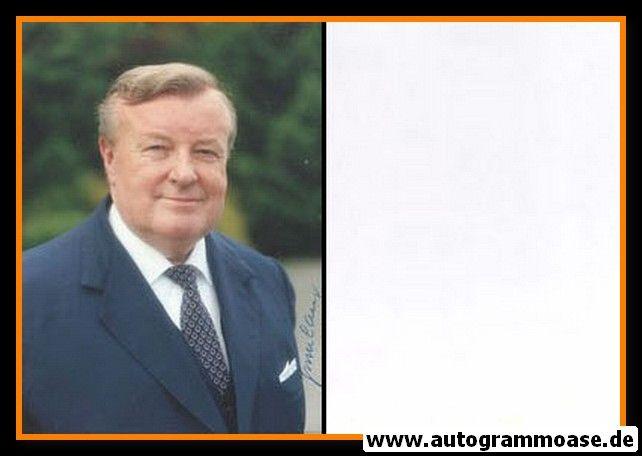 Autogramm Politik   CSU   August R. LANG   1990er Foto (Portrait Color)