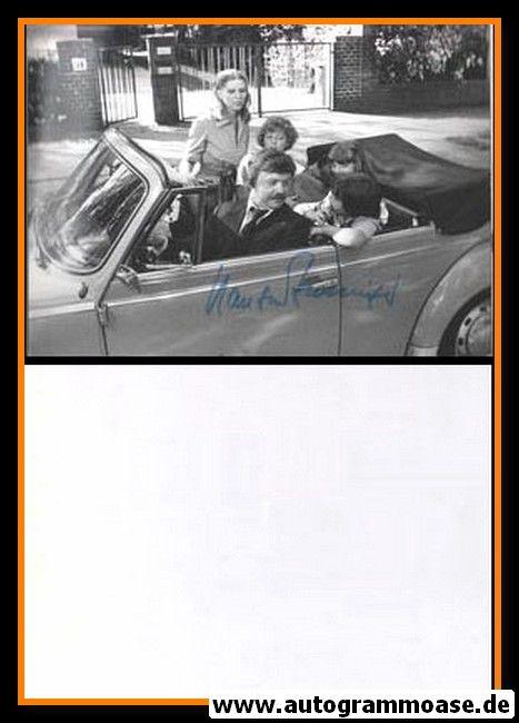 Autogramm Schauspieler   Hans-Werner BUSSINGER   1983 Foto (Filmszene SW)