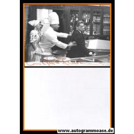 Autogramm Schauspieler   Wilfried BAASNER   1986 Foto (Filmszene Tatort SW)