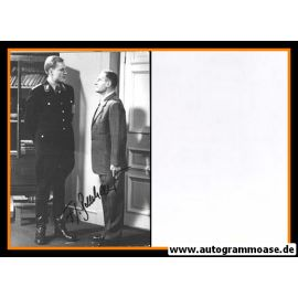 Autogramm Schauspieler   Friedrich Georg BECKHAUS   1977 Foto (Filmszene SW)