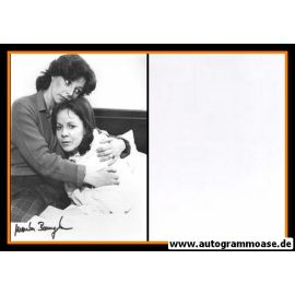 Autogramm Schauspieler | Monika BAUMGARTNER | 1980 Foto (Filmszene Derrick SW)