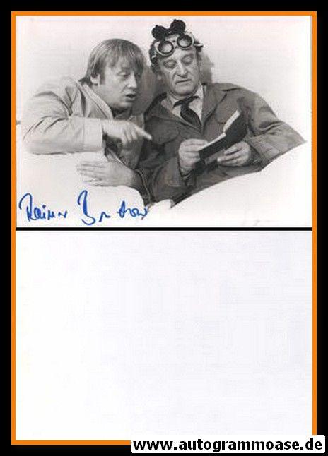 Autogramm Schauspieler   Rainer BASEDOW   1979 Foto (Filmszene SW)