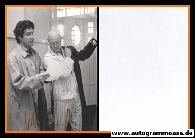Autogramm Schauspieler | Volker BRANDT | 1984 Foto (Filmszene Tatort SW)