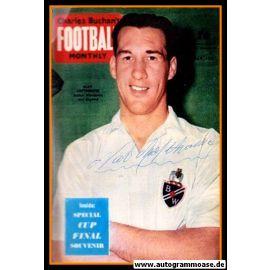 Autogramm Fussball   England   1950er Foto   Nat LOFTHOUSE (Portrait Color)
