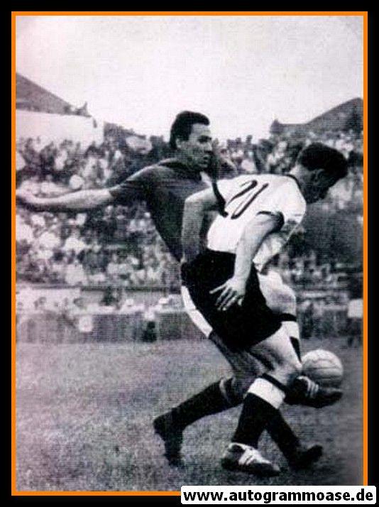Autogramm Fussball | Jugoslawien | 1954 WM Foto | Ivica HORVAT (Spielszene DFB)