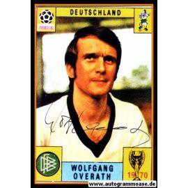 Autogramm Fussball   DFB   1970 WM Foto   Wolfgang OVERATH (Portrait Color)