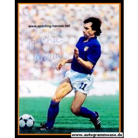 Autogramm Fussball | Italien | 1980er Foto | Giampiero MARINI (Spielszene Color)