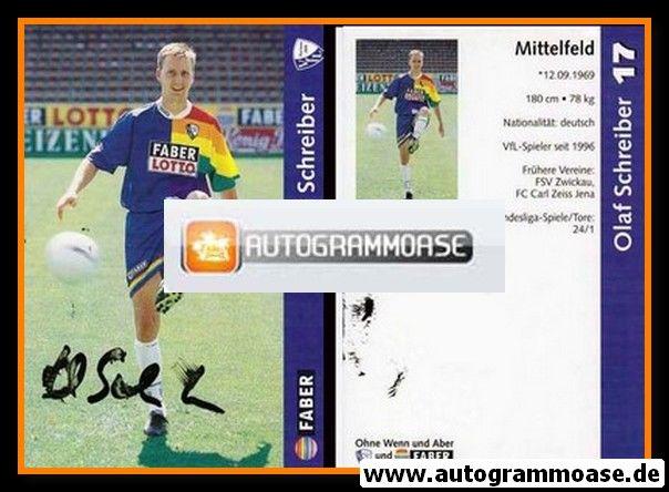 Autogramm Fussball | VfL Bochum | 1997 | Olaf SCHREIBER