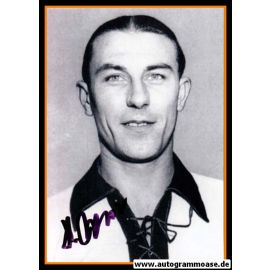 Autogramm Fussball   DFB   1950er Foto   Heinz WEWERS (Portrait SW) 1