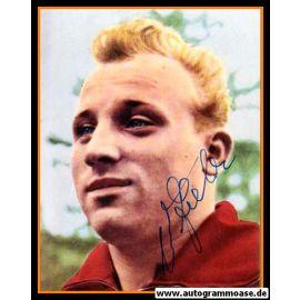 Autogramm Fussball   DFB   1950er Foto   Uwe SEELER (Portrait Color)