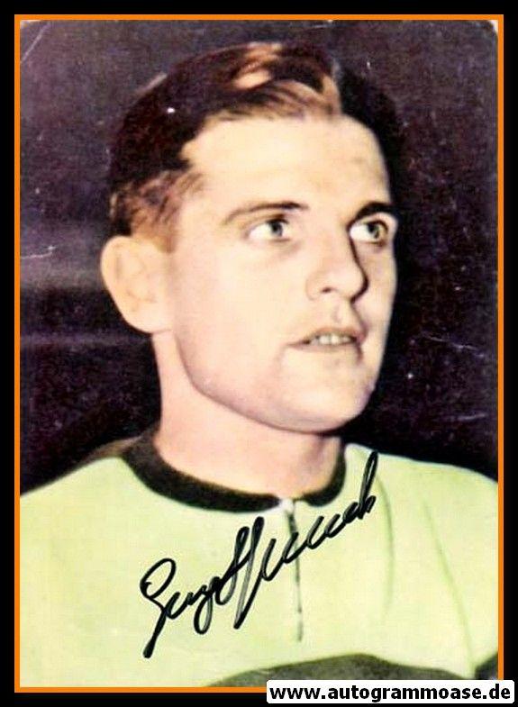 Autogramm Fussball | DFB | 1950er Foto | Georg STOLLENWERK (Portrait Color)