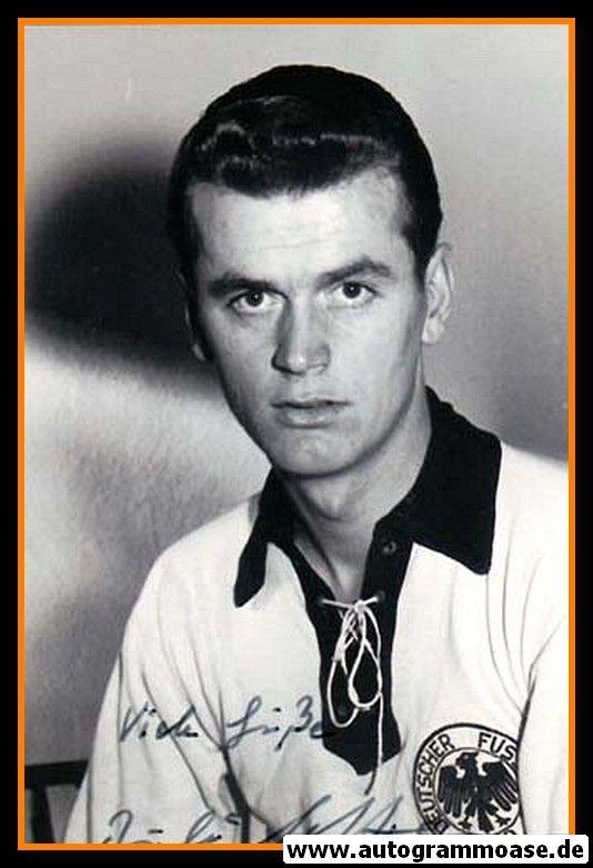 Autogramm Fussball | DFB | 1950er Foto | Rudolf HOFFMANN (Portrait SW)