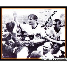 Autogramm Fussball | DFB | 1954 WM Foto | Horst ECKEL (Siegesfeier SW)