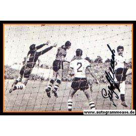 Autogramm Fussball | DFB | 1952 Foto | Georg STOLLENWERK (Spielszene Brasilien)
