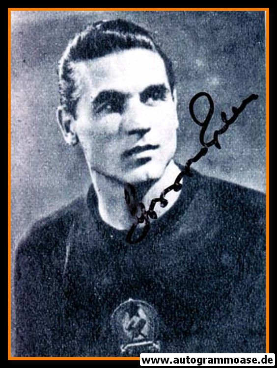 Autogramm Fussball | Ungarn | 1950er Foto | Gyula GROSICS (Portrait SW) 2