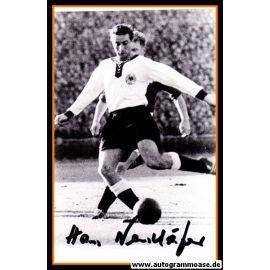 Autogramm Fussball | DFB | 1950er Foto | Hans NEUSCHÄFER (Spielszene SW)