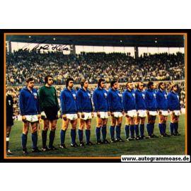 Mannschaftsfoto Fussball | DDR | 1974 WM + AG Hans-Jürgen KREISCHE