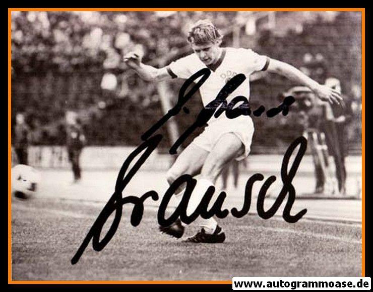 Autogramm Fussball | DDR | 1970er | Bernd BRANSCH (Spielszene SW)