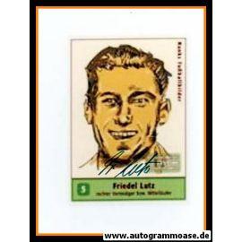 Autogramm Fussball | Eintracht Frankfurt | 1959 Foto | Friedel LUTZ (Zeichnung Hanks)