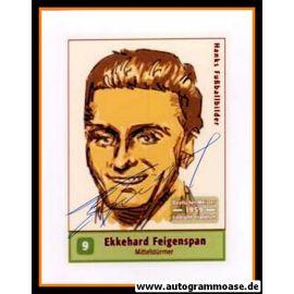 Autogramm Fussball | Eintracht Frankfurt | 1959 Foto | Ekkehard FEIGENSPAN (Zeichnung Hanks)