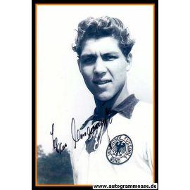 Autogramm Fussball   DFB   1950er Foto   Hans CIESLARCZYK (Portrait SW)