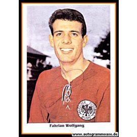Autogramm Fussball   DFB   1962   Wolfgang FAHRIAN (Portrait Color) 2