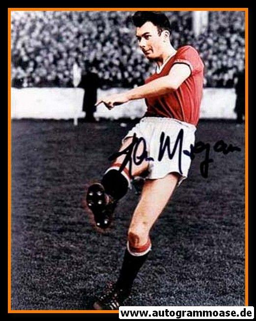 Autogramm Fussball | Manchester United | 1950er Foto | Kenny MORGANS (Spielszene Color)