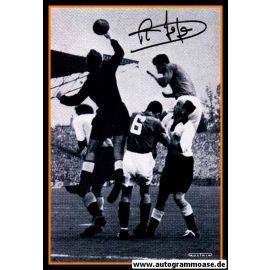 Autogramm Fussball | Frankreich | 1952 Foto | Raymond KOPA (Spielszene DFB) 2