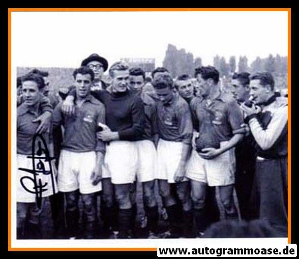 Mannschaftsfoto Fussball   Frankreich   1952 + AG Raymond KOPA