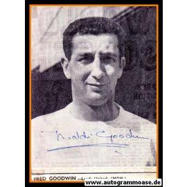 Autogramm Fussball | Leeds United | 1960er | Freddie GOODWIN (Portrait SW)